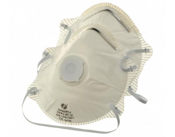 Feinstaubmaske mit Ventil FFP 2