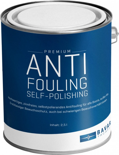 Bavaria Premium Self-Polishing Antifouling 2,5 Litres
