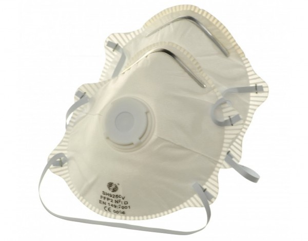 Fine Dust Mask with Valve FFP 2 - 2 pieces