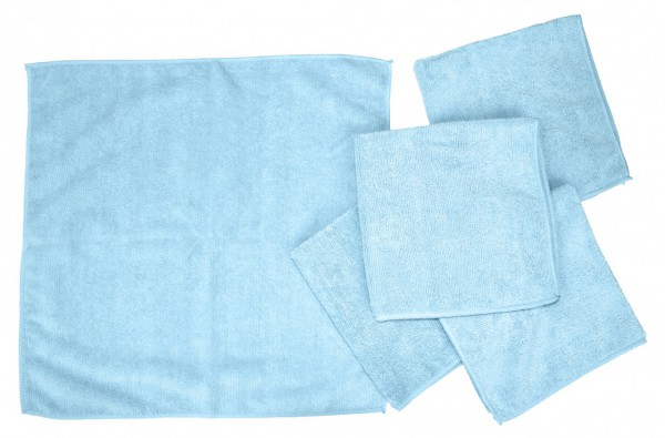 Microfiber Polishing and Cleaning Cloths 5-Pack